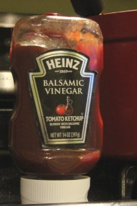 My secret ingredient! Balsamic Vinegar Ketchup