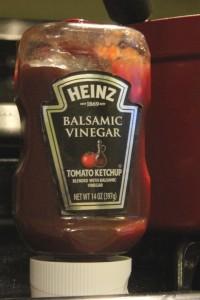 My secret ingredient! Balsamic Vinegar Ketchup